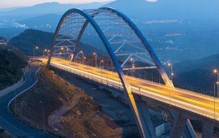 ΚΑΤΑΣΚΕΥΗ ΓΕΦΥΡΑΣ ΤΣΑΚΩΝΑΣ / TSAKONAS' BRIDGE CONSTRUCTION